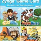 $10 Zynga Game Card